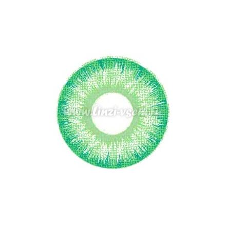 Карнавальные линзы Lensmam  Green Elf mini
